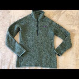 Patagonia Women's Better Sweater 1/4 zip fleece
